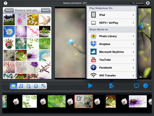 airplay ipad photos to tv