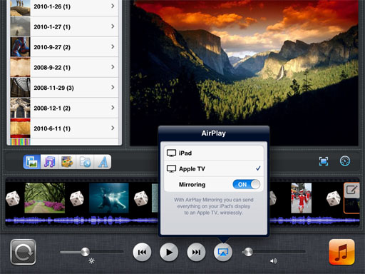 Photo Slideshow Director HD airplay