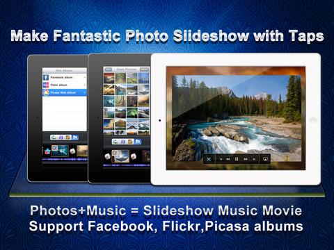 create video from pictures on ipad iphone