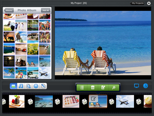 iPad photo slideshow app