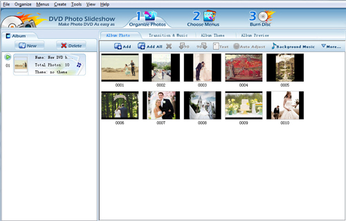 create slideshow on pc