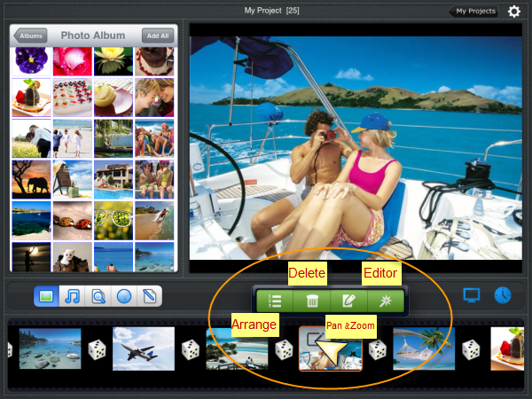 how to see file names of photos on ipad