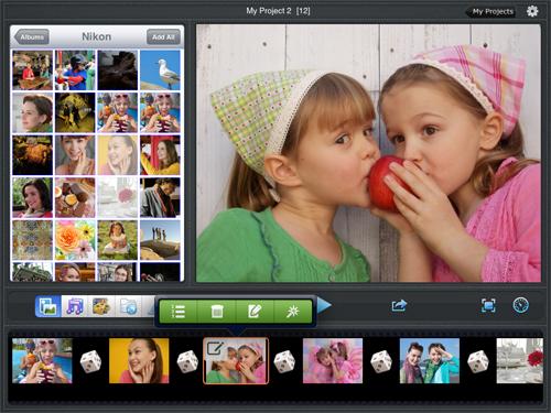create photo slideshow with music