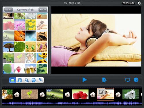 create music slideshow