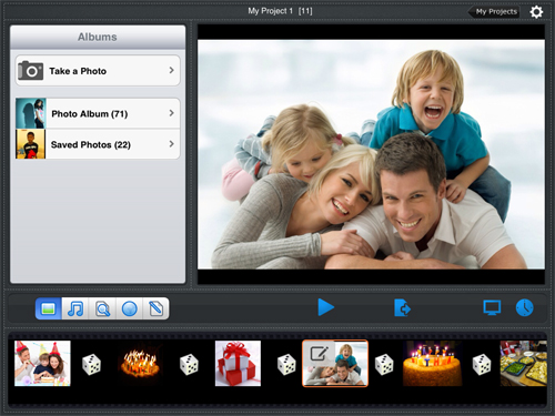 iPad photo manager