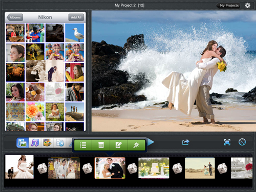wedding slideshow app