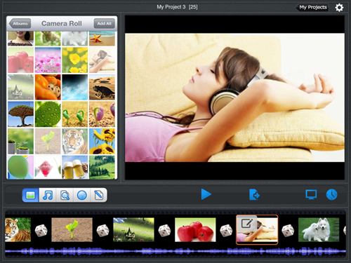 photo slideshow software for ipad mini