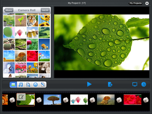 create slideshow on ipad