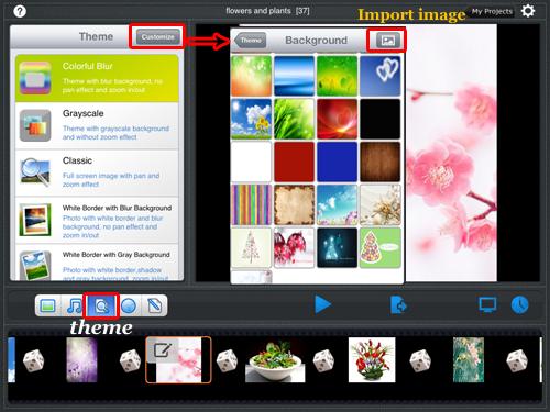 Add slideshow theme