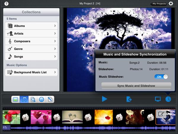 create a slideshow using picasa photos