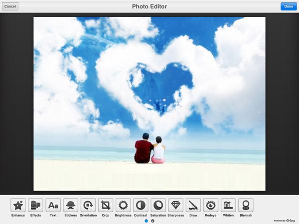 ipad photo editor