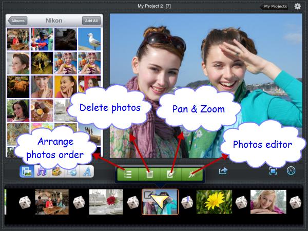 make a photo slide show