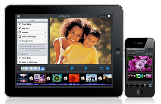 create slideshows on ipad with slideshow software